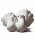 Lladro Couple Of Doves Figurine