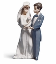 Lladro From This Day Forward Wedding Porcelain Figurine