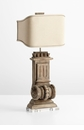 Loft Wood Table Lamp by Cyan Design
