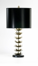 Lotus Leaf Iron Table Lamp by Cyan Design