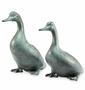 Lucky Duckies Garden Pair Sculpture by SPI Home