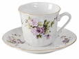 Lydia Porcelain Tea Cup & Saucer Sets (6)