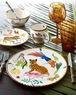 Lynn Chase Jungle Jubilee 16 Piece Dinnerware Set