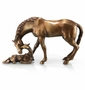 Mare & Foal Horse Sculpture by SPI Home