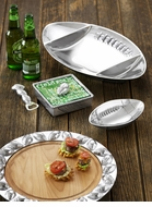 Mariposa Football Metal Serveware Collection