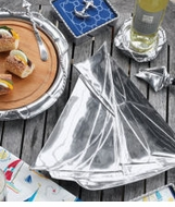 Mariposa Metal Coastal Serveware Collection