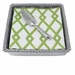 Mariposa Trowel Beaded Napkin Box