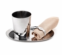 "Mary Jurek Biba 4"" Drinking Cup - Stainless Steel"