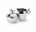 "Mary Jurek Galaxy 2.5"" X 3.5"" Creamer - Loop - Stainless Steel"