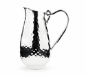"Mary Jurek Galaxy Water Pitcher with Loop Handle 11"" H"