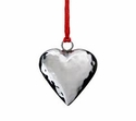 Mary Jurek Holiday Heart Ornament with Red Pouch