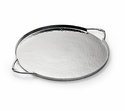 "Mary Jurek Infinity 14"" Round Tray - Stainless Steel"