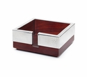 Mary Jurek Kenya Individual Rosewood Cocktail Napkin Holder