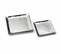 "Mary Jurek Mesa 15"" X 15"" Square Serving Tray - Stainless Steel"