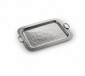 "Mary Jurek Omega Serving Tray with Ring 18.5"" x 14.25"""