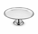 "Mary Jurek Paloma Cake Stand with Braided Wire 11.5"" x 4.25"" H"