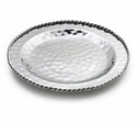 "Mary Jurek Paloma Serve Tray with Braided Wire 13.5"" Diameter"