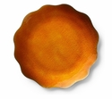"Mary Jurek Symphony Burnt Orange Dish 8"" D"