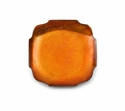 "Mary Jurek Symphony Burnt Orange Square Dish 6.5"" Set of 4"