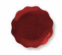 "Mary Jurek Symphony Ruby Red Dish 6"" D Set of 4"
