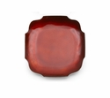 "Mary Jurek Symphony Ruby Red Square Dish 6.5"" Set of 4"