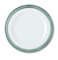 Match Italian Pewter Convivio Dinner Plate White