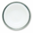 Match Italian Pewter Convivio Round Serving Bowl Small White
