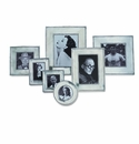 Match Italian Pewter Lombardia Square Frame Medium