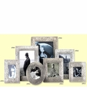 Match Italian Pewter Trentino Rectangular Frame Medium