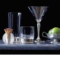 Match Pewter Beverage and Glassware