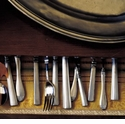 Match Pewter Flatware and Serving Pieces