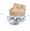 Mauviel M'Cook 5 Piece Set W/Crate
