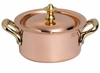 Mauviel M150B Bronze Handled heater with candle for small saucepan