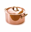 Mauviel M150B Bronze Handled round cocotte 12 cm Covered