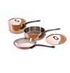 Mauviel M150C 5 Piece Copper Cookware Set W/Crate