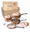 Mauviel M150C 7 Piece Copper Cookware Set W/Crate