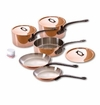 Mauviel M150C 8 Piece Copper Cookware Set