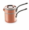 Mauviel M150C Cast iron Handled bain Marie 12 cm Covered