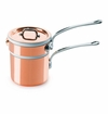 Mauviel M150S Cast Stainless Handled bain Marie Covered