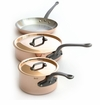 Mauviel M250C 5 Pc Copper Cookware Set W/Crate