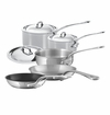 Mauviel MCook 8 Piece Set with Wooden Crate