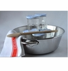 Mauviel Mcook Cast Stainless Handled Jam Pan Set