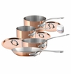 Mauviel MHeritage 7 Piece Set In Crate Cast SS Handles 1.5Mm