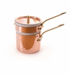 Mauviel Mtradition Bronze Handled bain Marie 14 cm Covered
