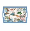 Michel Design Works Sea Life Large Decoupage Wooden Tray