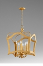 Milan Six Light Pendant Gold by Cyan Design
