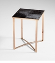 Modern Reality Cowhide Table by Cyan Design