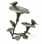 Morning Glory & Bird Pair Sculpture by SPI Home
