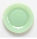 "Mosser Glass 8"" Jade Salad Plate"