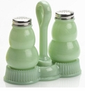 Mosser Glass Salt & Pepper Set - Jade